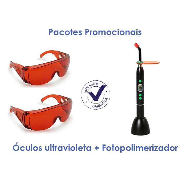 Fotopolimerizador Cicada Oculos ultravioleta